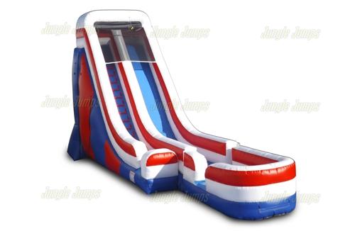 22 USA Slide with Pool