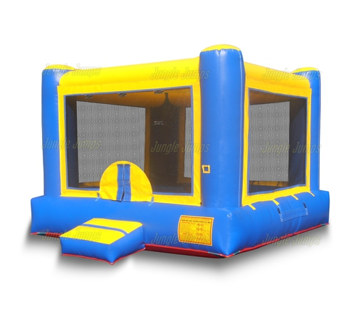Blue Yellow Bounce House