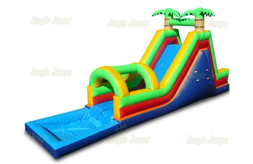 Fun Slide With Pool II