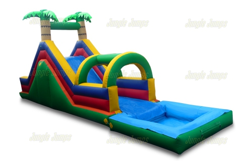 Inflatable Slides:  Finding a great slide for a good price.
