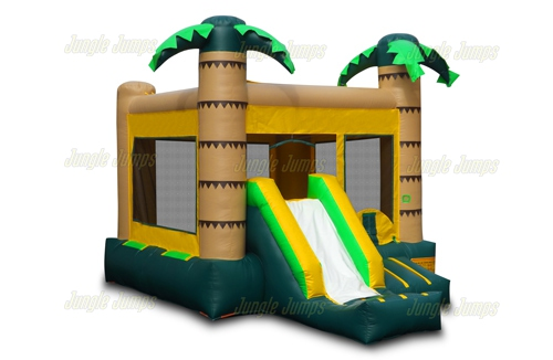 Inflatable Palm Slide Combo