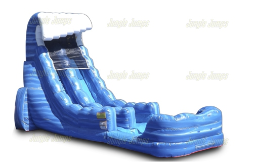Inflatable slides: Maybe a combo is a better idea.