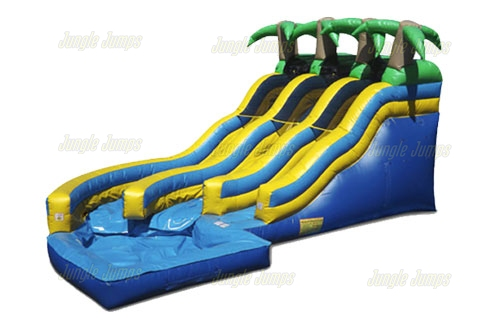 An Inflatable Slide Needs To Checked Out