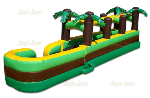 Tropical Slide with Slip n Slide