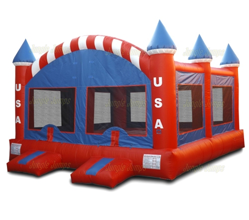 USA Double Bounce House