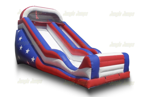 USA Slide with Splash Pool