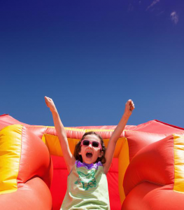 Wet vs. Dry Inflatable Slides: The Features and Differences