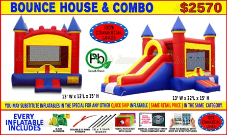 Admirable Bounce House Package Specials Junglejumps Best Image Libraries Ponolprimenicaraguapropertycom