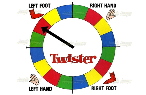 Twister Board Junglejumps