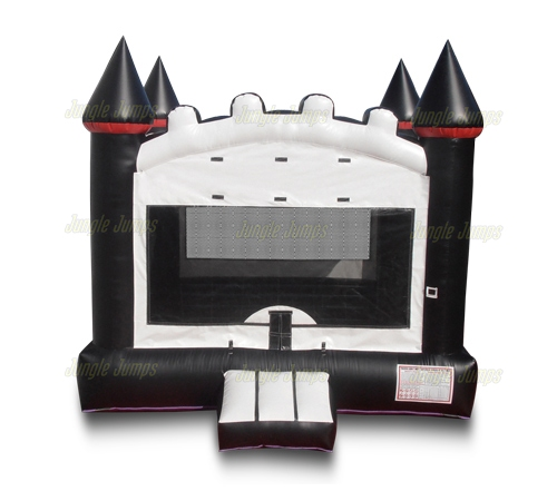 Inflatable Bounce Houses Black N White Bounce House Is An