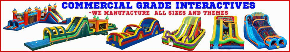 Commercial Grade Inflatable Interactive Courses