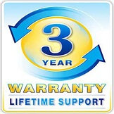 3 Years Inflatable Warranty